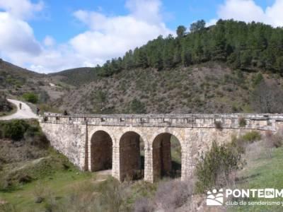 Senda Genaro - GR300 - Embalse de El Atazar - Patones de Abajo _ El Atazar; senderismo en albarracin